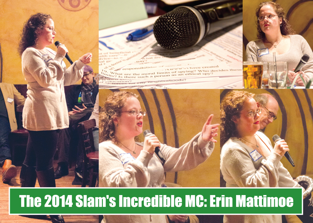 Erin Mattimore the wonderful MC for 2014